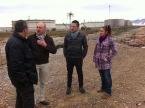 Baldo i regidors al Serrallo